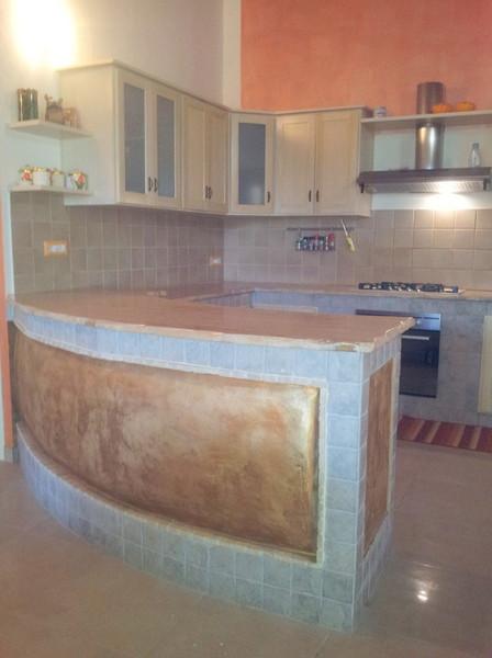 Piano Cucina In Marmo Travertino.Top Cucina Tavoli E Penisole In Marmo Granito Pietra Oristano