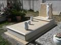 Rivestimento tomba in marmo Giallo Provenza