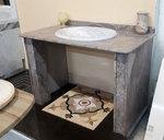 Mobile Top bagno in granito Colibrì